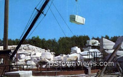 Marble Quarry - West Rutland, Vermont VT Postcard