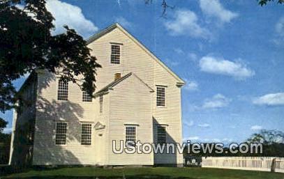Old Meeting House - Rockingham, Vermont VT Postcard