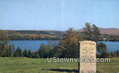 Caspian Lake, Vermont      ;     Caspian Lake, VT Postcard