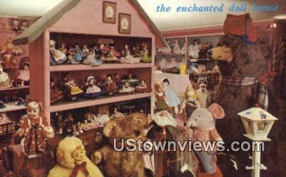 Enchanted Doll House - Manchester Center, Vermont VT Postcard