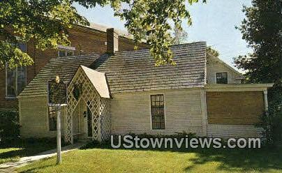 Birthplace of Stephen A Douglas - Brandon, Vermont VT Postcard