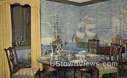 Dining Room, Shelburne Museum - Vermont VT Postcard