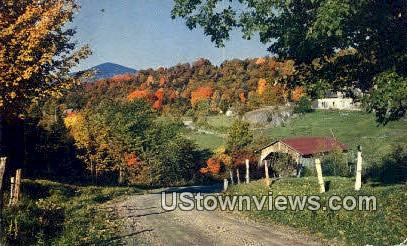 Covered Bridge - Montgomery, Vermont VT Postcard
