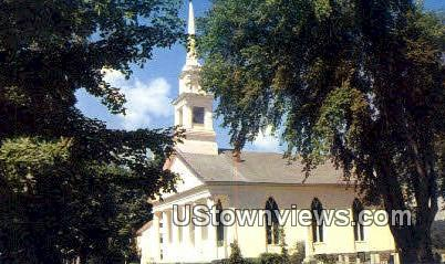 Federated Church - Castleton, Vermont VT Postcard
