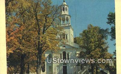 First Congregational Church - Bennington, Vermont VT Postcard