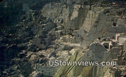 Granite Quarries - Barre, Vermont VT Postcard