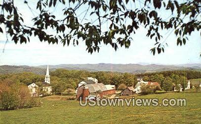 St Johnsbury, Danville - Peacham, Vermont VT Postcard