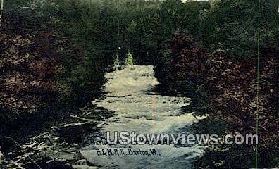 Barsy River - Barton, Vermont VT Postcard