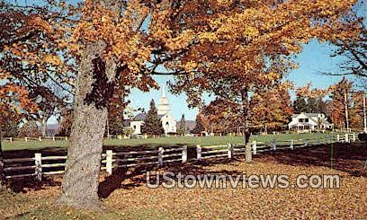 Craftsbury Common, VT     ;     Craftsbury Common, Vermont Postcard