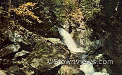 Bingham Falls - Stowe, Vermont VT Postcard