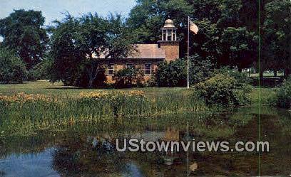 Vergennes School, Shelburne Museum - Vermont VT Postcard
