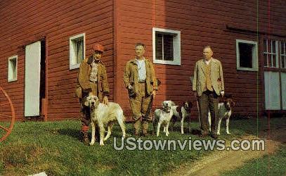 Autumn Hunters - Wilmington, Vermont VT Postcard