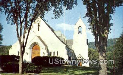 Marble Church - Proctor, Vermont VT Postcard