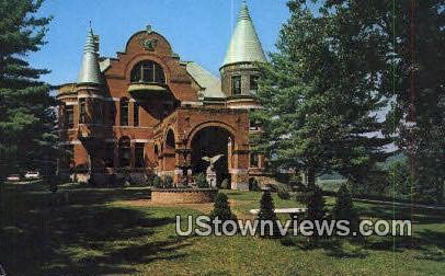Wilson Castle - Rutland, Vermont VT Postcard