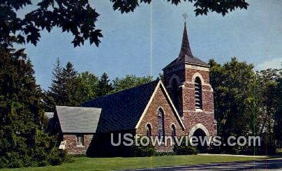 Trinity Episcopal Church - Shelburne, Vermont VT Postcard