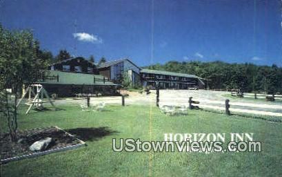 Horizon Inn - Wilmington, Vermont VT Postcard