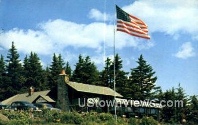Skyline Restaurant - Hogback Mountain, Vermont VT Postcard