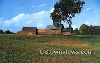 Red Barns Quechee - Vermont VT Postcard