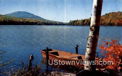 Kettle Pond - Groton State Forest, Vermont VT Postcard