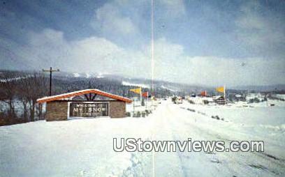 Mount Snow, Vermont      ;     Mount Snow, VT Postcard