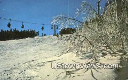 Mount Snow - West Dover, Vermont VT Postcard