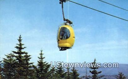 Mt Snow Auto Gondola - Mount Snow, Vermont VT Postcard