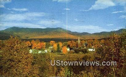 Underhill Center - Mount Mansfield, Vermont VT Postcard