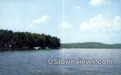 Idlywild Park - Lake St Catherine, Vermont VT Postcard