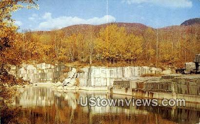 Marble Quarry - Dorset, Vermont VT Postcard