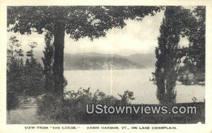The Lodge, Lake Champlain - Basin Harbor, Vermont VT Postcard