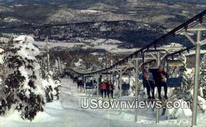 Mount Snok Ski Area - West Dover, Vermont VT Postcard