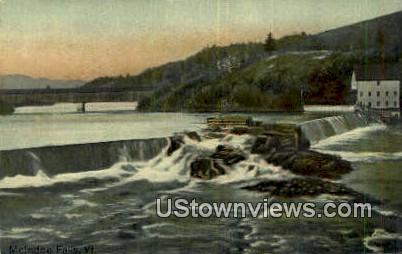 McIndoe Falls, Vermont      ;     McIndoe Falls, VT Postcard