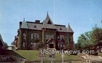 Municipal Bldg, Town Offices - Brattleboro, Vermont VT Postcard
