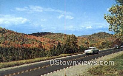 Molly Stark Trail - Bennington, Vermont VT Postcard
