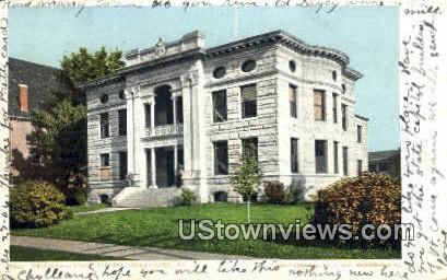 Kellogg Hubbard Library - Montpelier, Vermont VT Postcard
