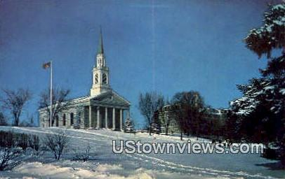 Mead Memorial Chapel, Middlebury College - Vermont VT Postcard