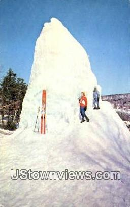 The Matterhorn - Mount Snow, Vermont VT Postcard