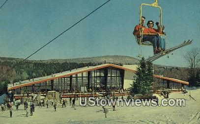 Sundance Base Lodge - Mount Snow, Vermont VT Postcard