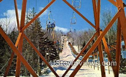 Savio Telecar - Mount Snow, Vermont VT Postcard