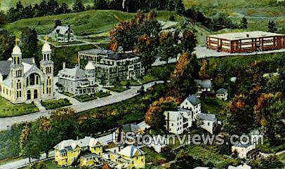 St Mary's Church - Newport, Vermont VT Postcard