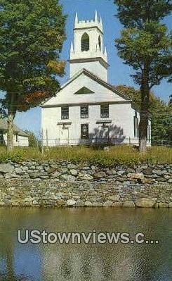Weston Community Church - Vermont VT Postcard