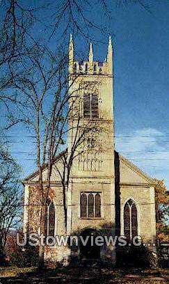 St James Episcopal Church - Arlington, Vermont VT Postcard