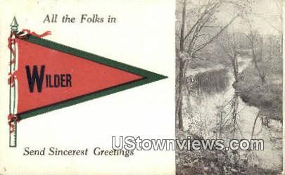 Wilder, Vermont      ;     Wilder, VT Postcard