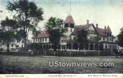 Norwich Inn - Vermont VT Postcard