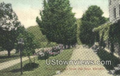Stream Club House - Wilmington, Vermont VT Postcard