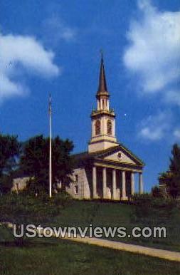 Middlebury College Chapel - Vermont VT Postcard