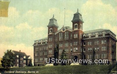 Goddard Seminary - Barre, Vermont VT Postcard