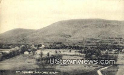 Mt Equinox - Manchester, Vermont VT Postcard