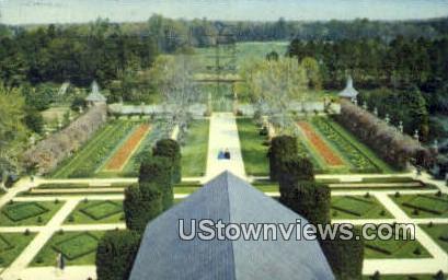 Ballroom Garden Governor's Palace - Misc, Vermont VT Postcard