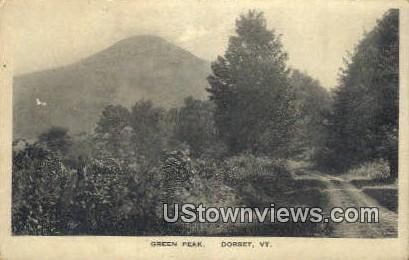 Green Peak - Dorset, Vermont VT Postcard